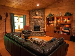log home interior design ideas log cabin interior paint colors alternatux