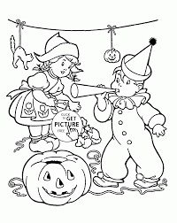 Free Halloween Coloring Page by Halloween Party Coloring Pages For Kids Halloween Printables Free