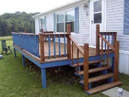 decks for mobile homes diy and porch free deck 17 home kits