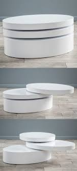 white oval coffee table 50 modern coffee tables to add zing to your living
