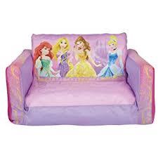 flip out sofa bed amazon com disney princess inflatable flip out sofa kitchen u0026 dining