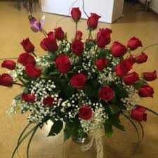 3 dozen roses 3 dozen roses vase arrangement in indian trail nc picasso floral
