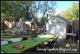 backyard haunted house ideas