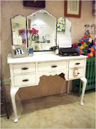 vintage white dressing table with mirror design ideas interior