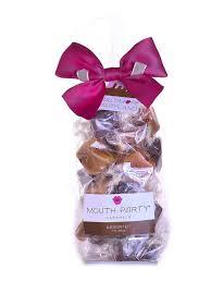 assorted caramel gift bags caramel