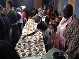 homeless shelter serves dinner rallies for its survival in