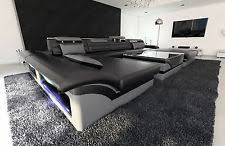 Leather U Shaped Sofa U Shaped Sectional Sofas Loveseats U0026 Chaises Ebay