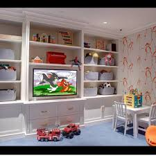 Playroom Storage Furniture by This Is Great For A Kids Upstairs Playroom Attic Renovation