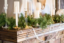 interior fireplace mantel ideas decorative christmas trees