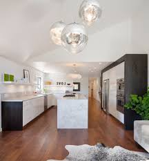 kitchen lighting layout kitchen contemporary with slanted ceiling