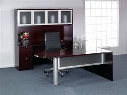Kidney Shaped Executive Desk Executive U Shaped Desk U Shape Executive Desks Credenza Set W