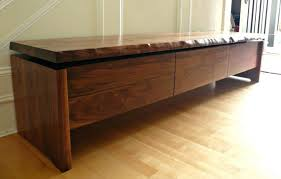 Indoor Wood Bench Plans Furniture Black Wooden Pull Out Shoe Storage Bench Combined With