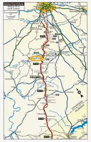 Muscle Shoals Alabama Map Natchez Trace Map With Mile Markers Image Gallery Hcpr