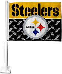 Flag Of Pittsburgh Rico Pittsburgh Steelers Car Flag U0027s Sporting Goods