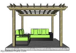 Pergola Free Plans by 10x10 Pergola Plans Myoutdoorplans Free Woodworking Plans And