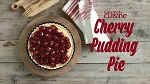 cuisine cherry cherry pudding pie gourmet recipe 7