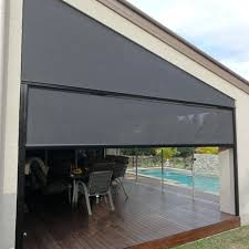 Outdoor Rolling Blinds Window Blinds Window Blinds Gold Coast X Channel Outdoor 1