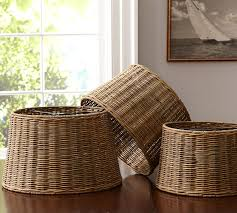 Pottery Barn Wicker Chic Pottery Barn Lamp Shades Best Home Decor Inspirations