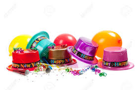 new year s noisemakers new year s hats noise makers streamers balloons and confetti