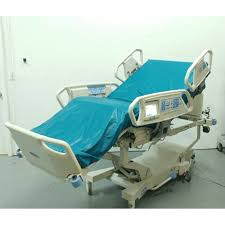 patient ready hill rom total care hospital bed double screen air