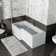 Bathroom Baths And Showers Shower Baths P Shape And L Shape Shower Baths At Bathroom City