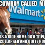 Save A Horse Ride A Cowboy Meme - walmart horse meme generator imgflip