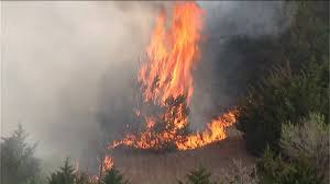 Wildfire Yukon by Oklahoma County Burn Ban Extended Amid Recent Wildfires Kfor Com