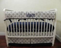 navy blue and lime green baby boy crib bedding grey argyle