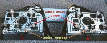 e36 318ti doubling brake light gif