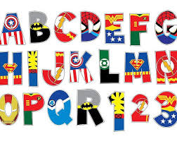 25 superhero alphabet ideas superhero