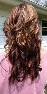 curly hair with lowlights cool hairstyle 2014 chocolate brown hair color with lowlights