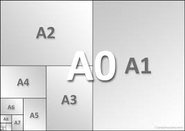 list of paper sizes page dimensions from iso a4 to letter and