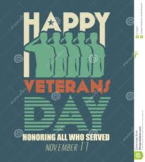veterans day greeting card us armed forces soldier in