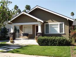 craftsman bungalow style homes interior fence home office