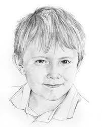 child pencil portrait drawing by margaret scanlan digi u0027s