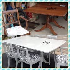 Chalk Paint Table And Chairs Kitchen Amazing Farm Kitchen Table Paint Kitchen Table White