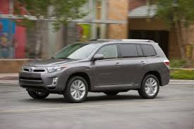 mileage toyota highlander 2012 family vehicles the most the most mileage