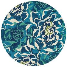 Indoor Outdoor Round Rugs 124 Best Round Rug Images On Pinterest Round Rugs Blue Area