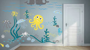 children s rooms decorating with wall stickers youtube