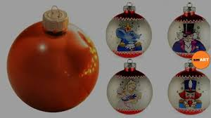 clear glass ornaments christmas 2016 youtube