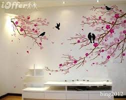 cherry blossom decor corner tree wall decal as well as tree wall decoration tree wall