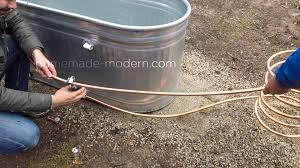 Wood Fired Bathtub Homemade Modern Ep112 Diy Wood Fired Tub