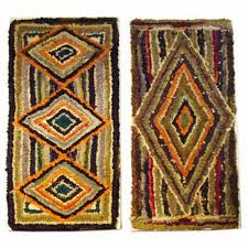 Rug Hooking Daily Saundra Of Woodland Junction Hit And Miss Rug Show
