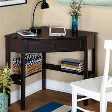Modern Espresso Desk Espresso Writing Desk Corner Writing Desk Corner Writing Desk