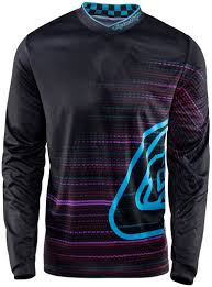 design jersey motocross troy lee designs gp electro jersey schwarz motocross jerseys troy