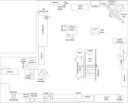 workshop blueprints house plan woodworking shop floor perky best workshop layout