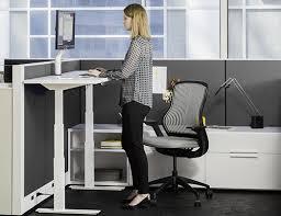 Hydraulic Desk Tone Height Adjustable Tables Knoll