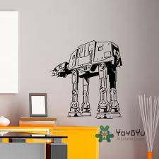 compare prices on ats star online shopping buy low price ats star wall decal vinyl stickers star wars at walker murals children kids teens boys room bedroom art