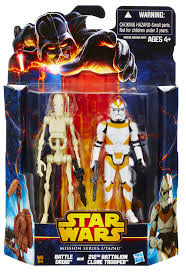 battle droid u0026 212th battalion clone trooper star wars mission d