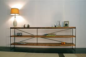 reclaimed wood console table for the family dinner table u2014 the decoras